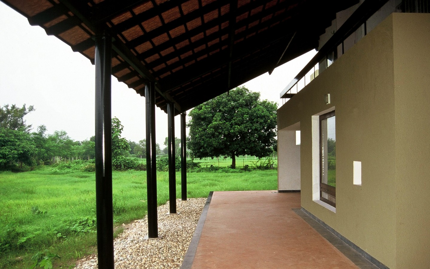 House on a farm rma architects for Farmhouse design in india